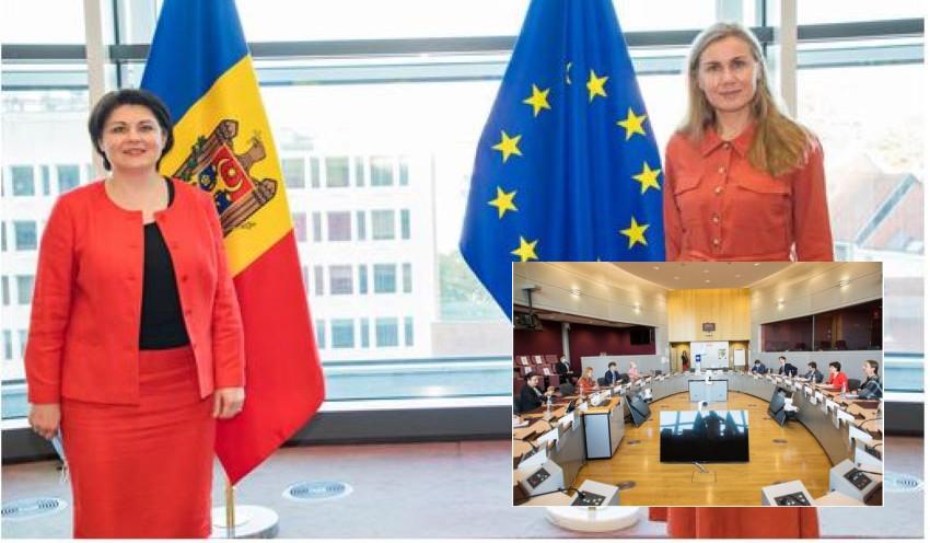 Foto: Aprovizionarea Republicii Moldova cu gaze și energie electrică, discutată la Bruxelles